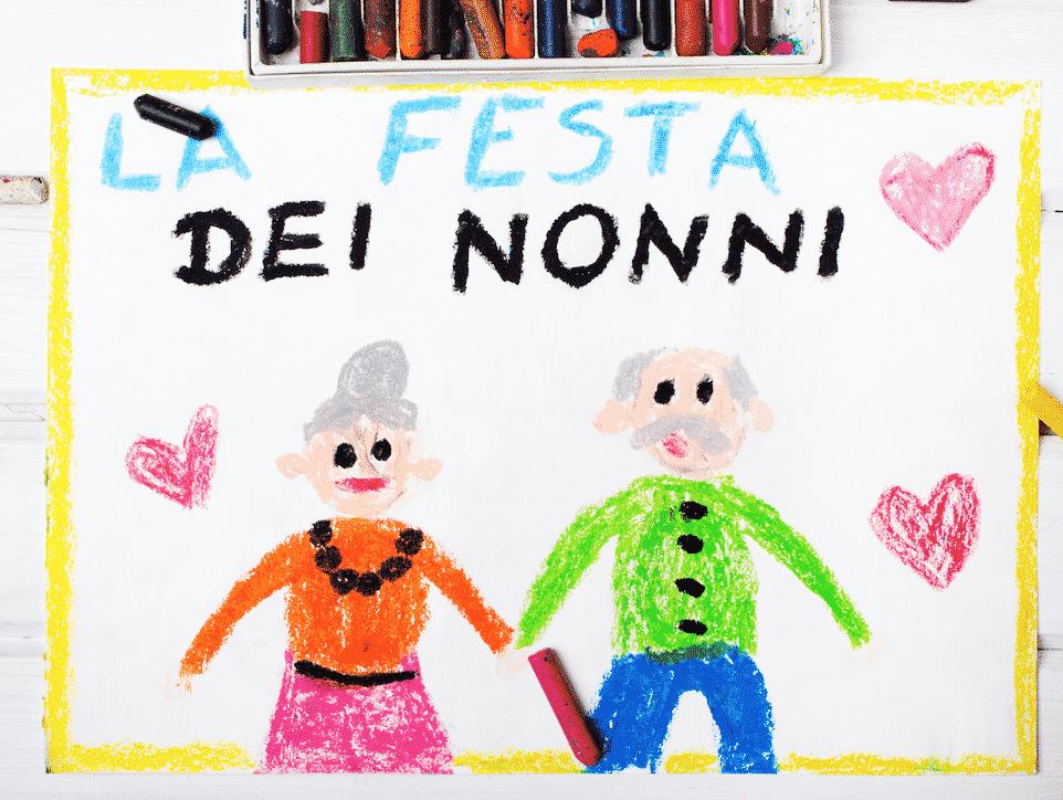 Festa Dei Nonni 5 Lavoretti Da Fare Con I Bambini Dellasilo Nido